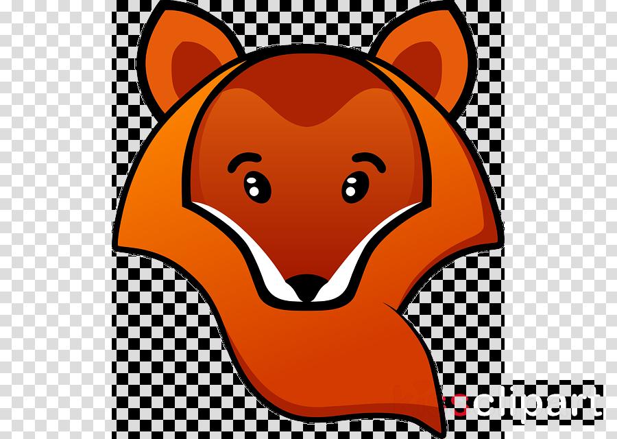 fox animated transparent clipart Red fox Clip art