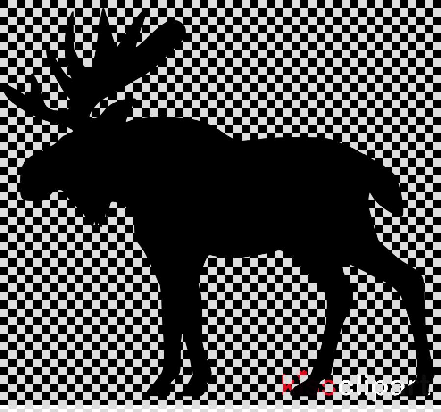 moose silhouettes clipart Moose Deer Clip art