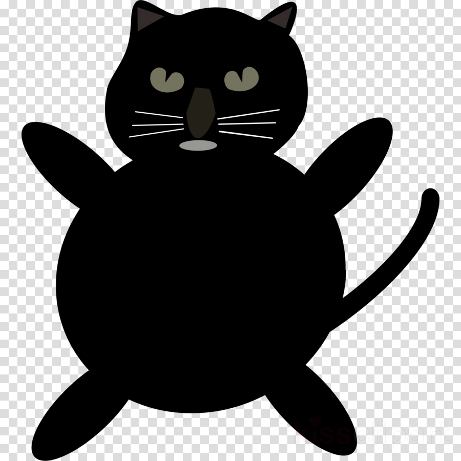 catcartoon png clipart Black cat Domestic short-haired cat