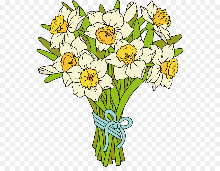 daffodil bouquet clipart Flower bouquet Clip art