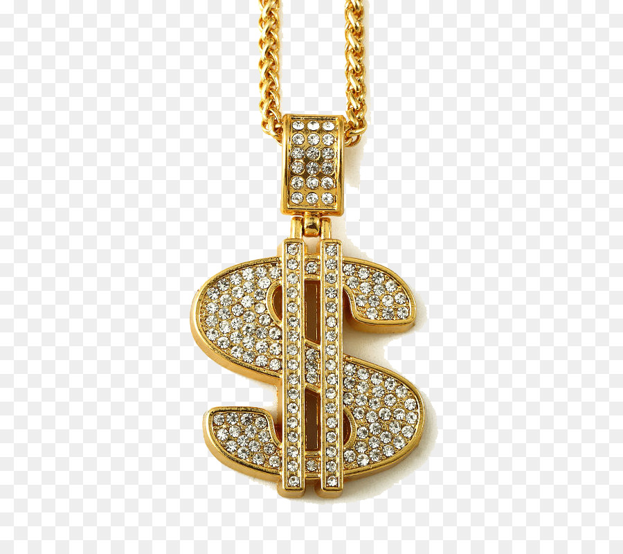 Dollar sign diamond. Background clipart necklace grill