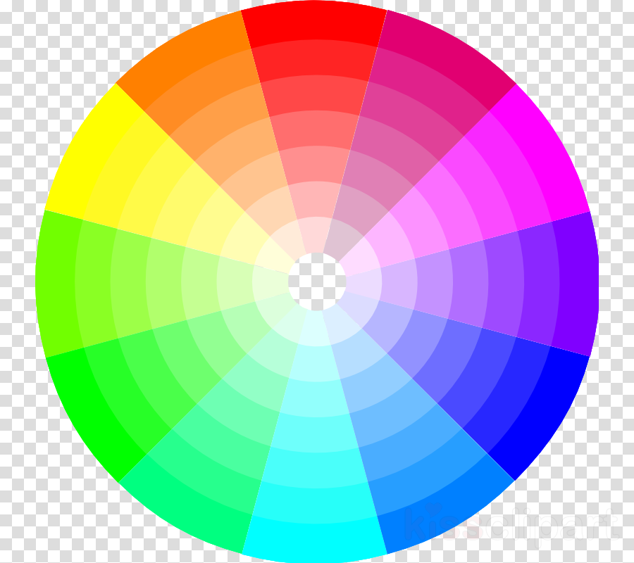 free color wheel clipart Color wheel Complementary colors Clip art