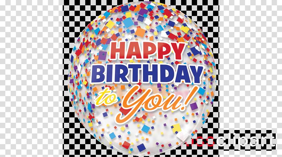 birthday balloons with confetti clipart Gas balloon Birthday
