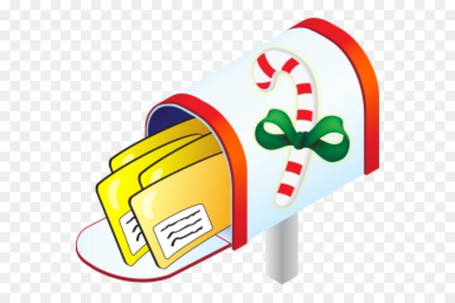 Christmas Card Clip Art.Christmas Gift Box Clipart Mail Technology Transparent