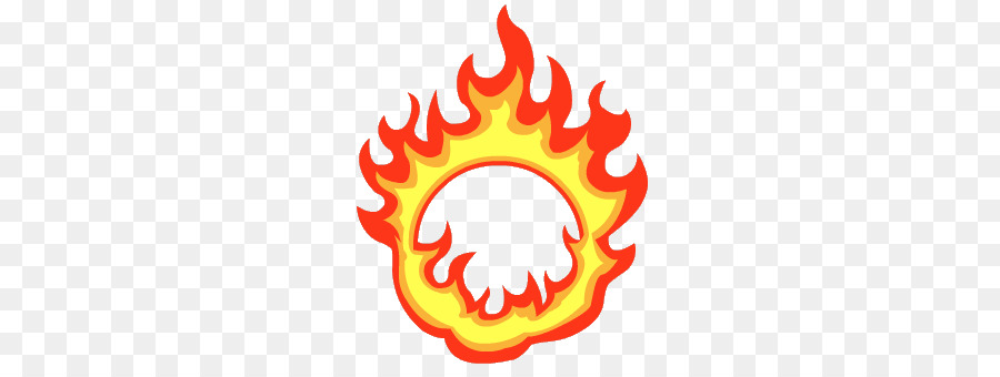 Flame circle. Fire ring clipart transparent
