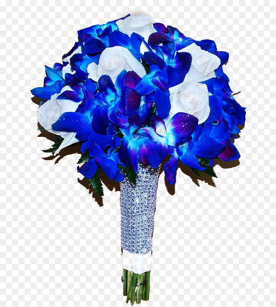 Download Blue Flower Bouquet Png Clipart Garden Roses Blue Rose