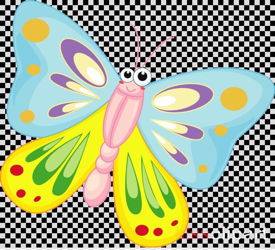 butterfly cartoon clipart Butterfly Clip art