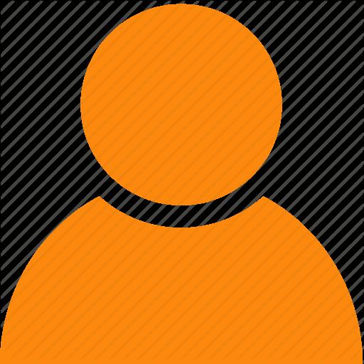 Person orange. Cartoontransparent png image clipart