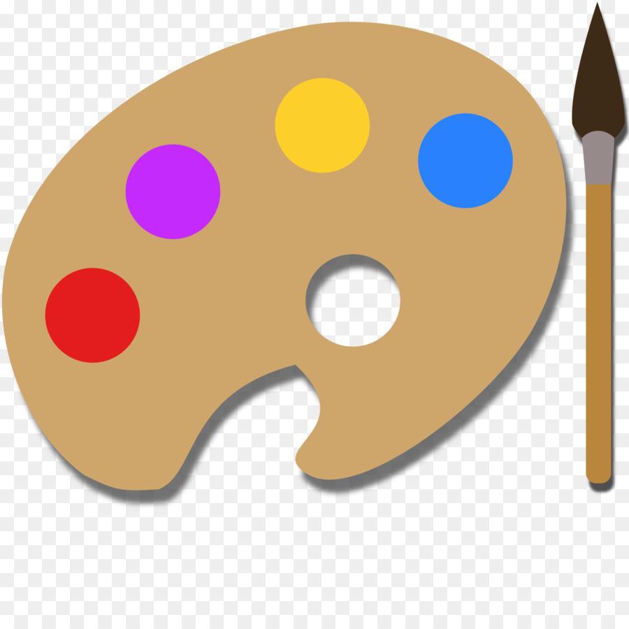 Paint Brush Cartoon Clipart Paint Nose Transparent Clip Art