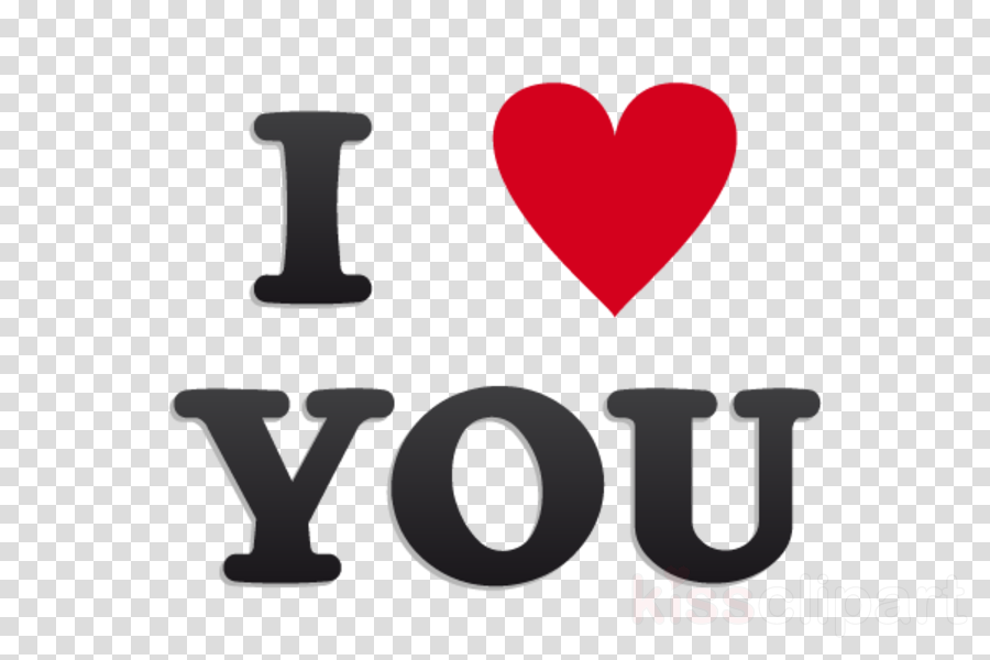 ı love you png clipart Love