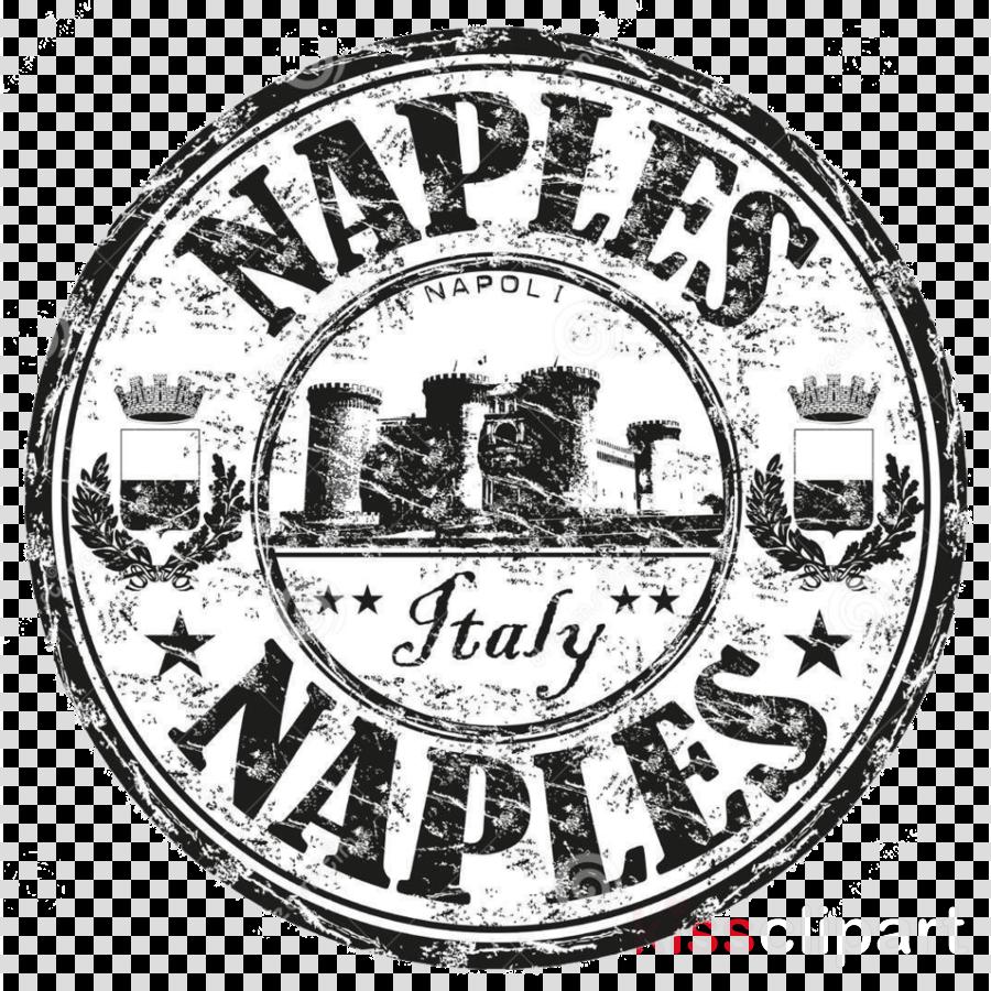 Naples Passport Stamp Clipart Postage Stamps