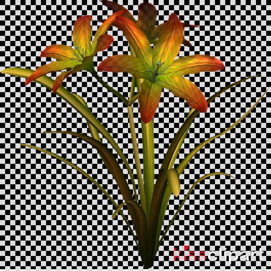 cut flowers clipart Cut flowers Flowerpot Amaryllis