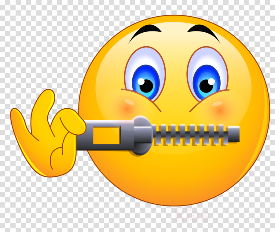 emoji zip mouth clipart Emoji Emoticon Smiley