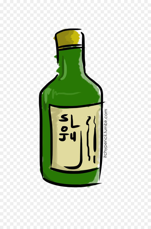 soju clipart Liqueur Soju Drawing