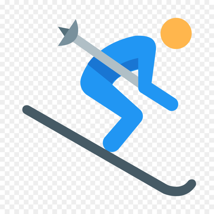 cartoon skier with no background clipart Alpine skiing Clip art