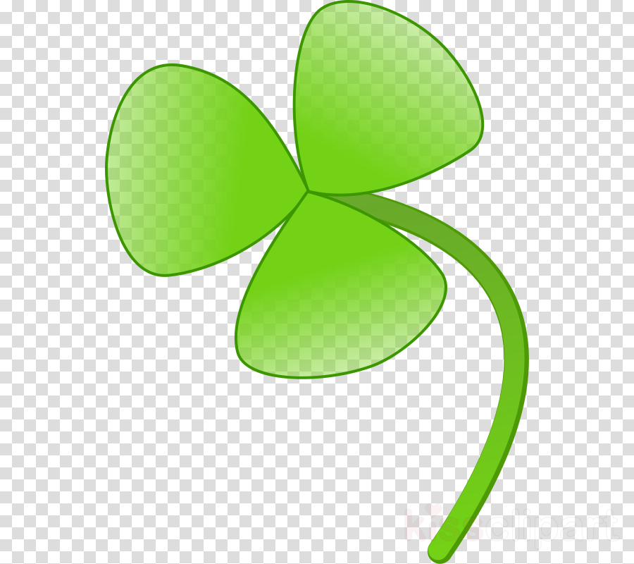 Leaf flower. Shamrock transparent png image