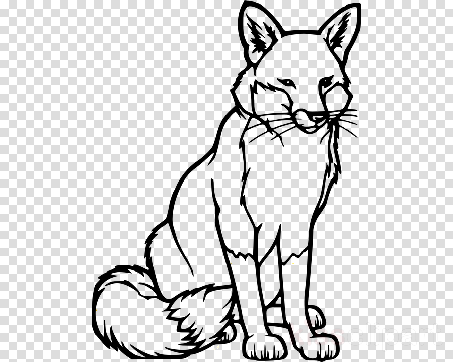 Fox, Cat, Dog, transparent png image & clipart free download