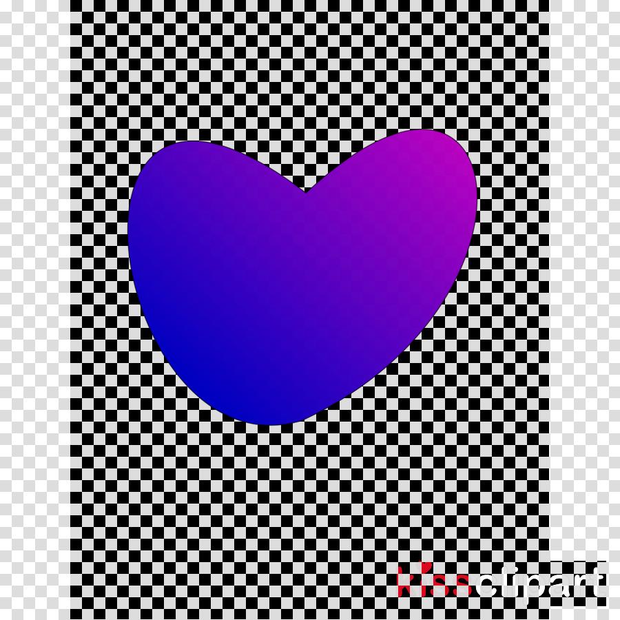 heart clipart Heart Violet Blue
