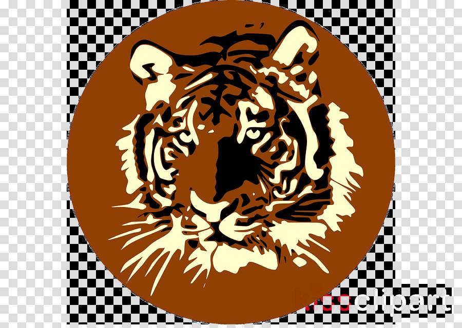 tag tigre clipart Bengal tiger White tiger Clip art