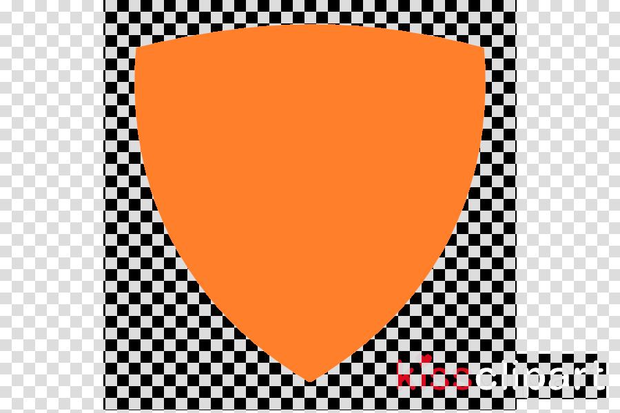 simple shield vector clipart Clip art