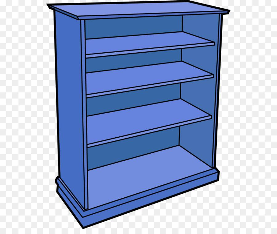 Download Empty Book Shelf Clip Art Clipart Bookshelf Bookcase Rectangle