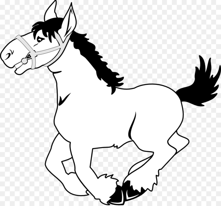 horse black and white clip art clipart American Quarter Horse Tennessee Walking Horse Foal