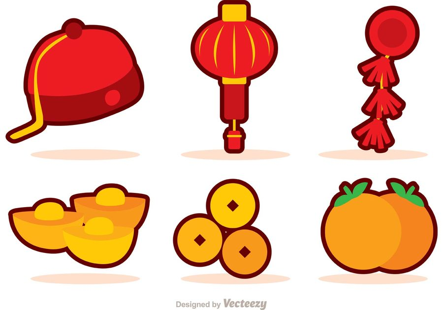 chinese new year hat cartoon clipart chinese new year clip art
