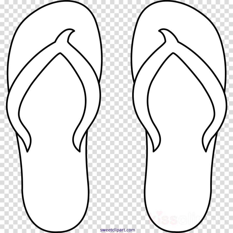 Download flip flops coloring pages clipart colouring pages slipper coloring book