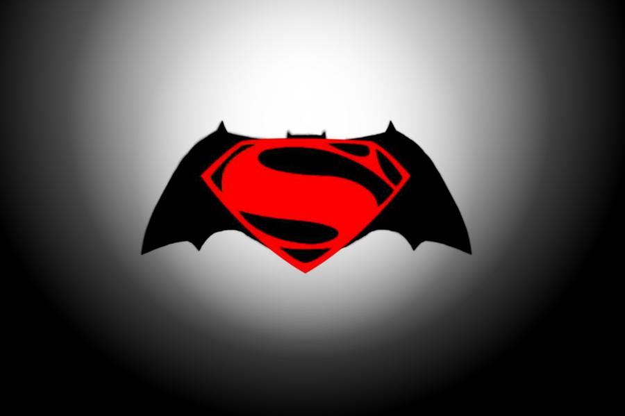 Batman Vs Superman Logo Drawing Clipart