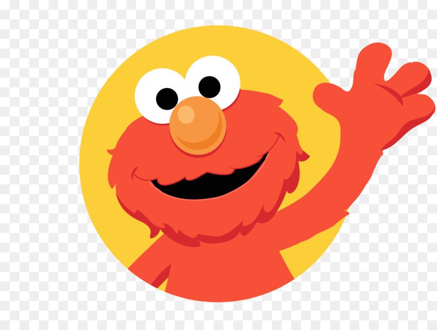 Cartoon Street Clipart Elmo Emoticon Food Transparent
