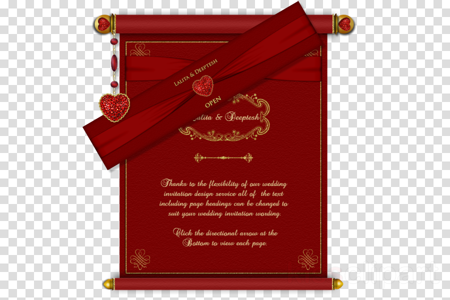 Marriage Wedding Scroll Png Clipart Free Download