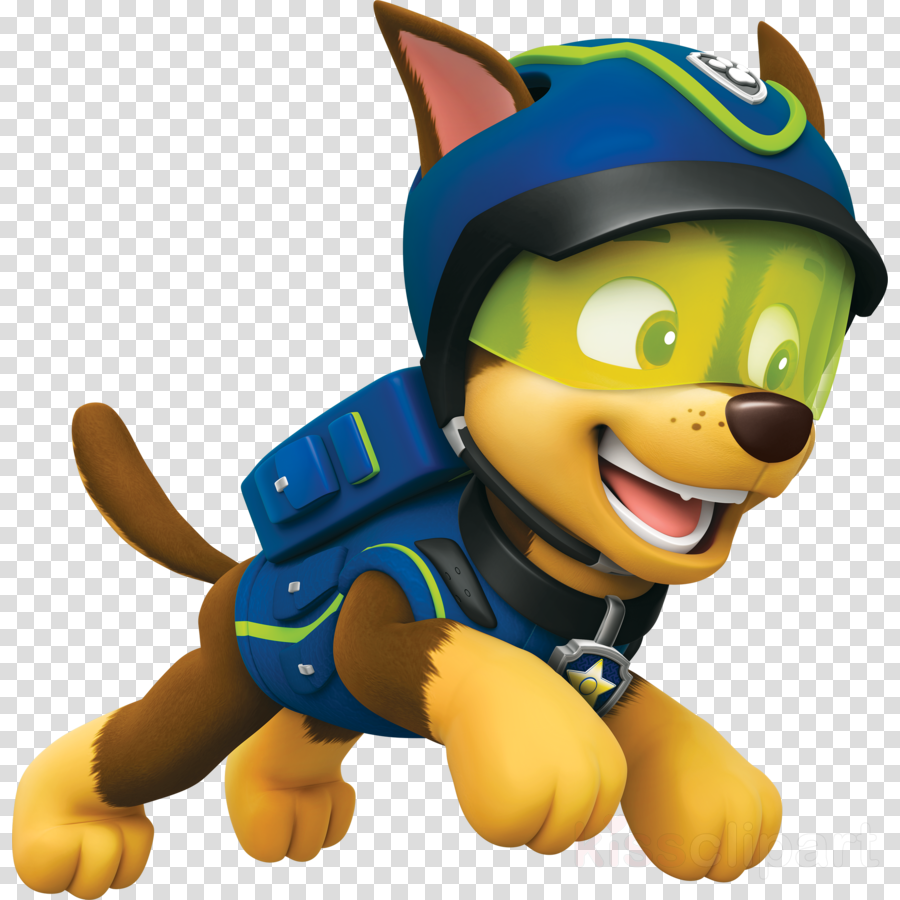 Download Paw Patrol Chase Character Clipart German Shepherd Puppy Police