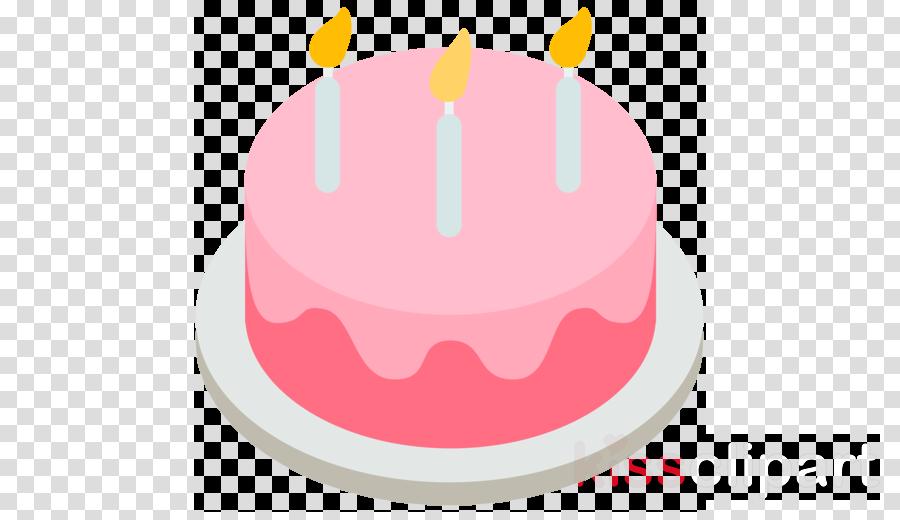 Cake Emoji Png Clipart Birthday