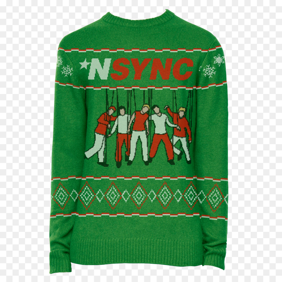 Download nsync christmas sweater clipart NSYNC Christmas jumper T ...