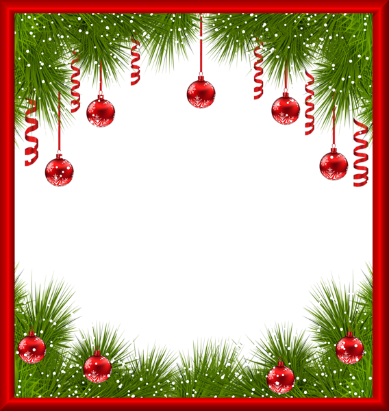Christmas Frame Clipart.Christmas Picture Frame Clipart Christmas Tree Leaf