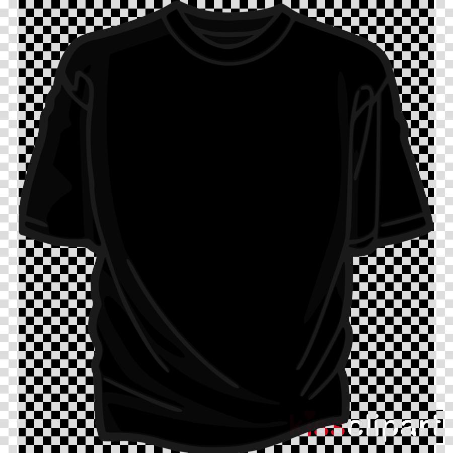 large black tshirt png clipart T-shirt Clip art