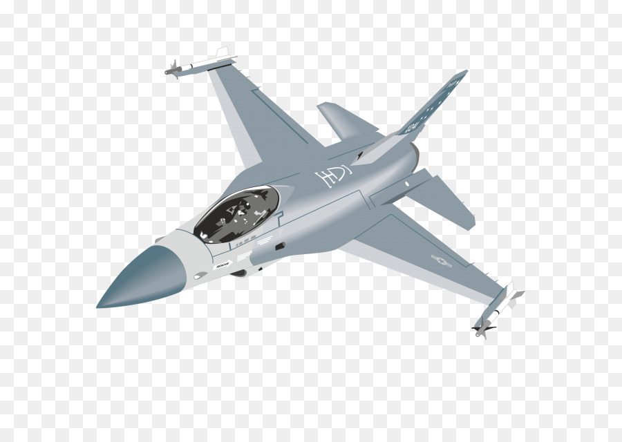 f 16 vector clipart Fighter aircraft General Dynamics F-16 Fighting Falcon Airplane