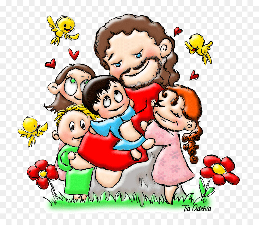 Download jesus criança desenho colorido clipart Child Evangelism ...