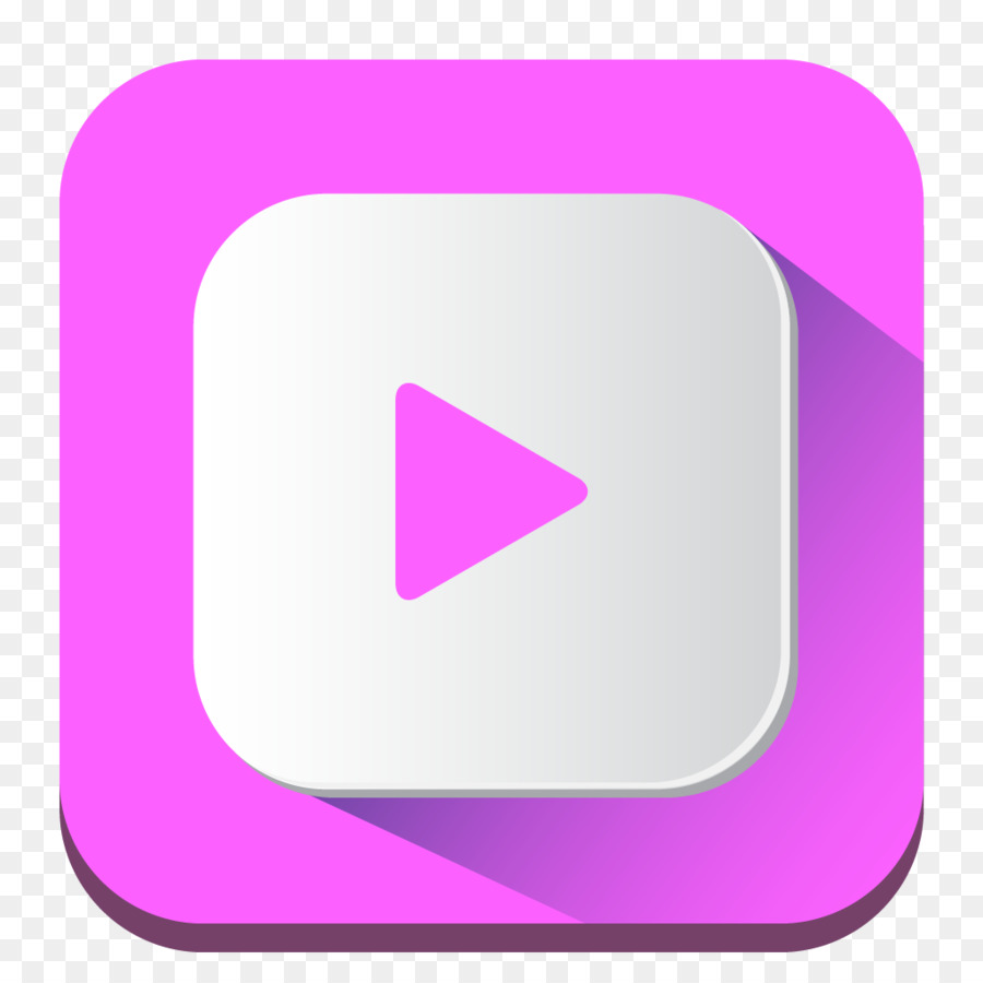 Youtube pink. Symbol clipart rectangle square