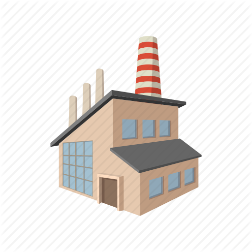 factory building cartoon clipart Factory