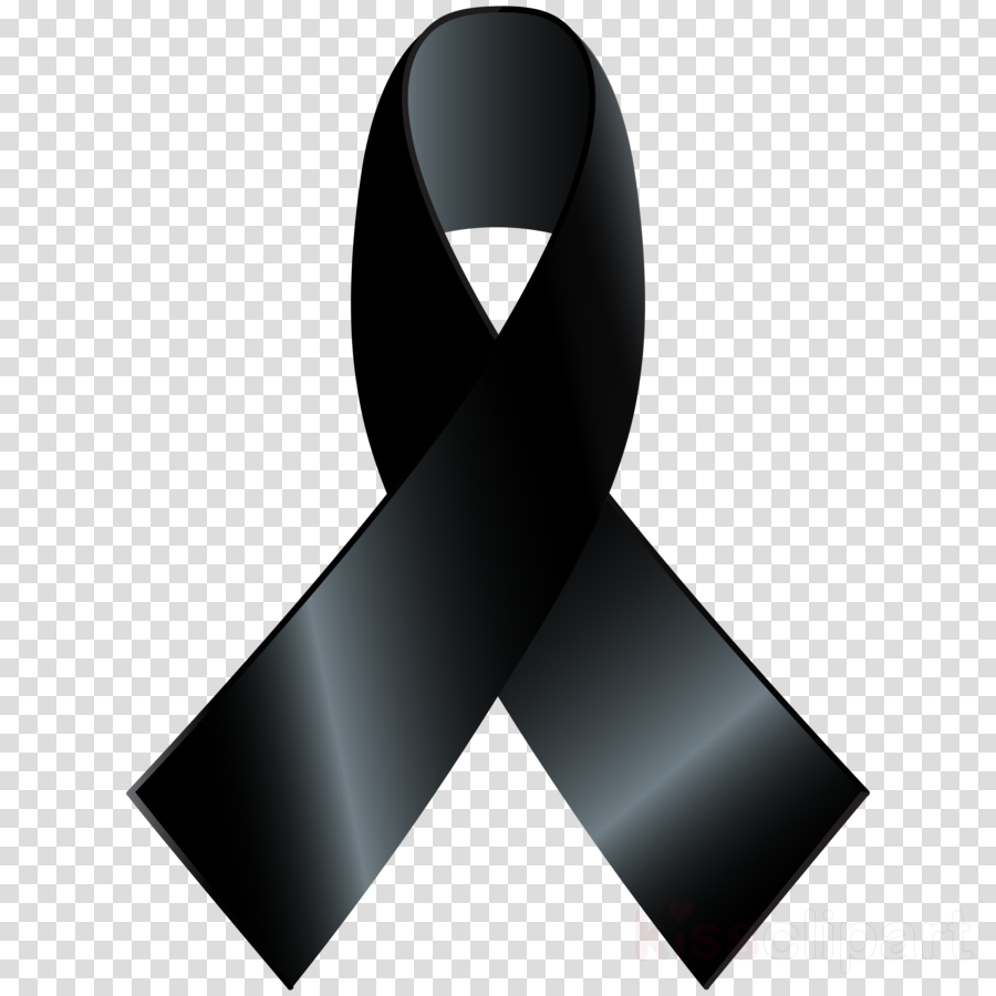 awareness ribbon png clipart Awareness ribbon Black ribbon