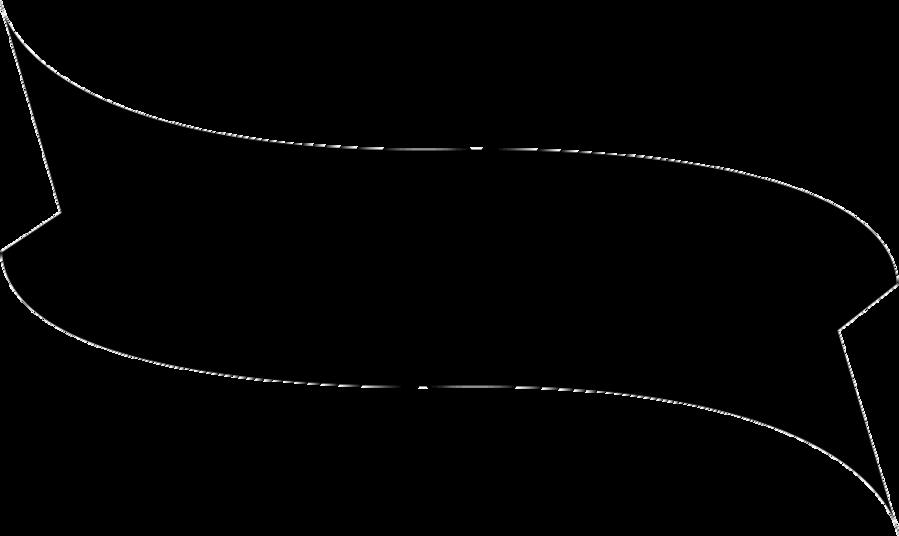 White Background Ribbon Clipart Ribbon Shape Banner Transparent Clip Art