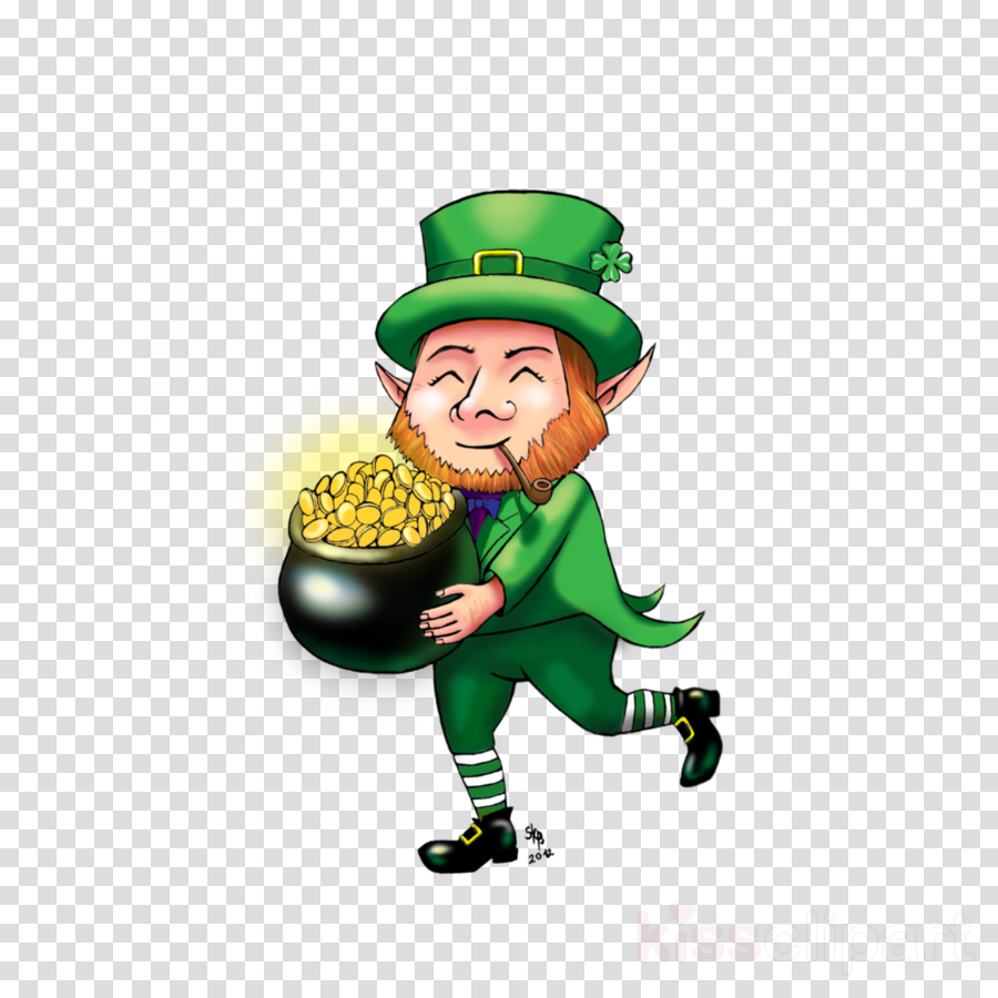 leprechaun runner clipart Saint Patrick's Day Leprechaun