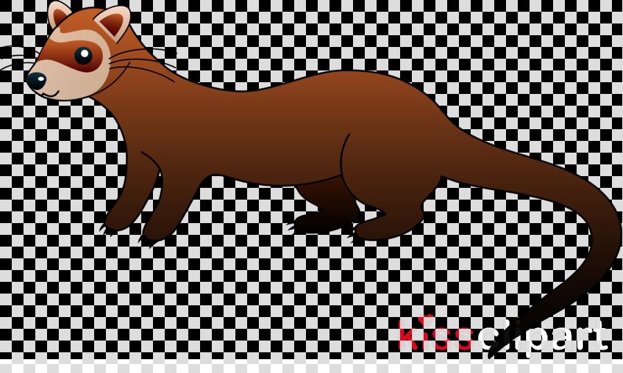 ferret clipart Ferret Cat Clip art