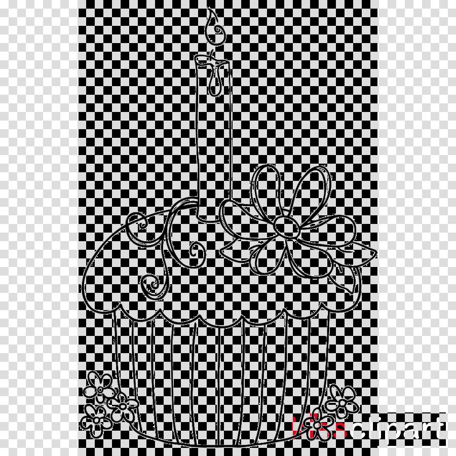 Wondrous Black And White Happy Birthday Clipart Birthday Cake Food Funny Birthday Cards Online Elaedamsfinfo
