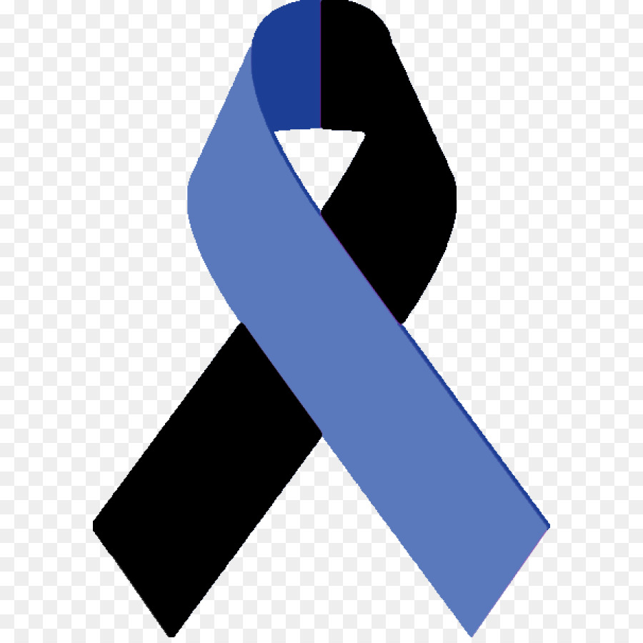 Blue Background Ribbon