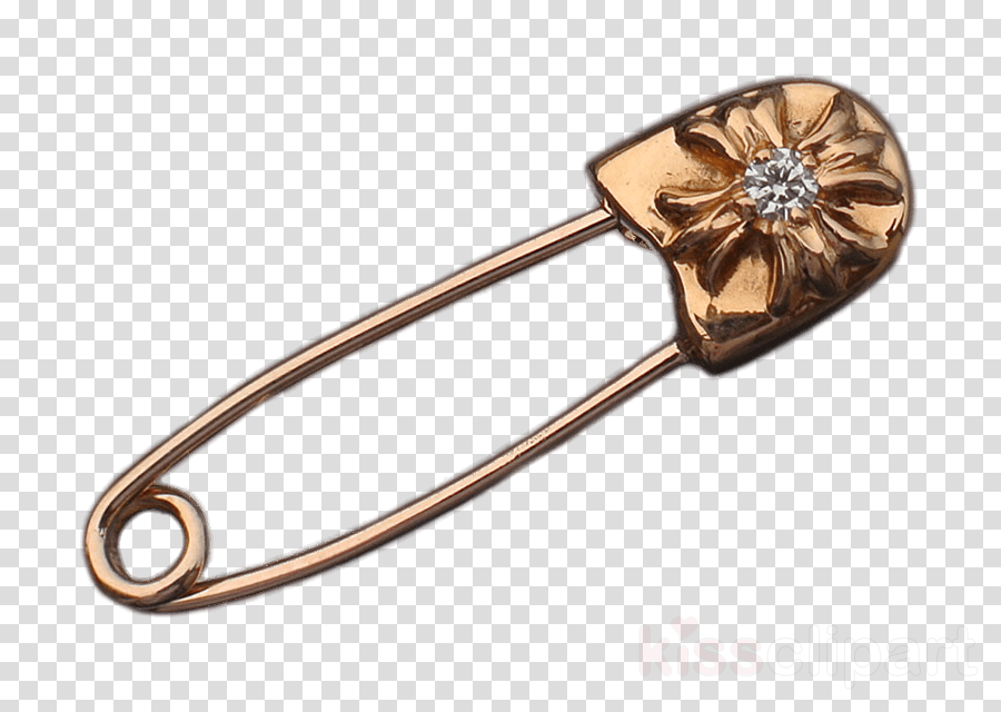 chrome hearts gold safety pin clipart Chrome Hearts Safety Pins