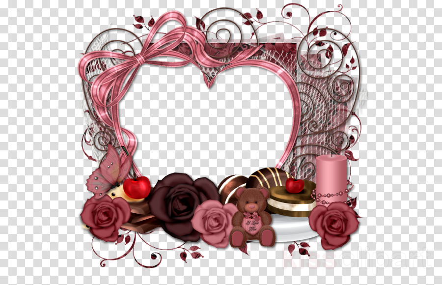love borders and frames png clipart Borders and Frames Clip art