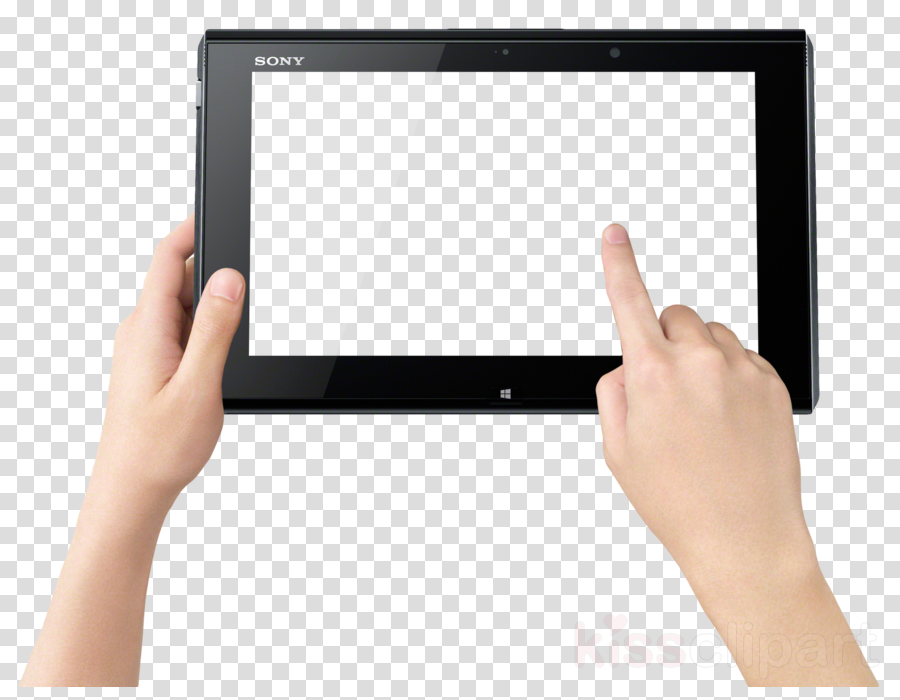 Touchscreen clipart Display device Touchscreen Tablet Computers