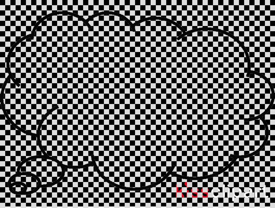 Download Thought Bubble Clip Art Clipart Speech Balloon Clip Art